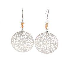 Large bohemian earrings sunstone jewelry by DSNatureetCreation https://www.etsy.com/listing/504993777/large-bohemian-earrings-sunstone-jewelry