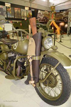 1942 Harley Davidson WLA MC US Army Motorcycle ©Richard Bauman