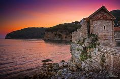17 Most Alluring Lesser-Known Places- shown is Budva, a small and fascinating seaside village in the heart of the Adriatic coast of Montenegro.