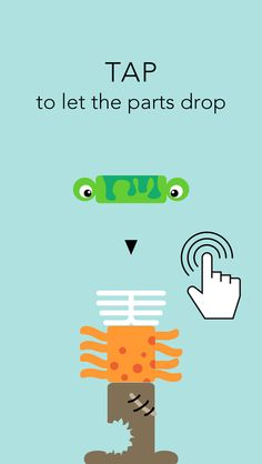 Stack The Monster Parts Game For IPhone And IPad. Make Wobbly Freddy As  Tall As