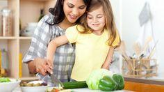 Ce site a un bouton pour 'ecouter' le texte...  Salade verte: recette à faire avec les enfants pour stimuler leur développement.