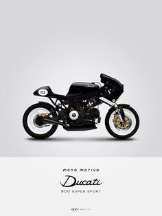Moto Motivo // Ducati 900 Super Sport