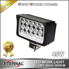 (398.00$)  Know more  - free shipping 10pcs - 45W tractor truck trailer agriculture vehicles construction heavy duty vehicles high power led work light