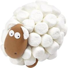 uma ovelhinha de marshmallow :)