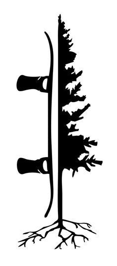 "Tree Board Mega Sticker - 11"""