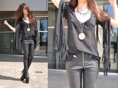 Love South Fork Top, Unif Axl Pants, Unif Das Boot, Child Of Wild Collar, Hunter Necklace