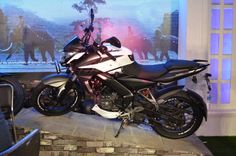 Bajaj Auto has launched the single-channel ABS version of the 2017 Bajaj Pulsar in the country, at INR lakhs, ex-showroom Mumbai. Bajaj Auto, Ns 200, Cycle Parts, Tubeless Tyre, Alloy Wheel, Channel, Abs, Product Launch, Bike