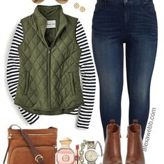 Plus Size Preppy Fall Outfit - Plus Size Winter Outfit Ideas - Plus Size Fashion for Women - Fashion Mode, Fall Fashion Outfits, Mode Outfits, Look Fashion, Autumn Fashion, Casual Outfits, Womens Fashion, Fashion Trends, Ladies Outfits