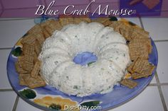 Blue Crab Mousse Recipe by Dish Ditty