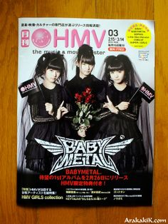 Baby Metal... ★ https://www.facebook.com/BABYMETAL.jp?ref=profile #BabyMetal