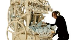 Ever looked at a marble and thought Hey, I could make music with those things! No? Well, me neither, but Martin Molin of Swedish band Wintergatan did, and we're seriously glad about that, because what he's invented is nothing short of genius.