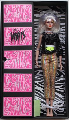 ROXY Jem Holograms Misfits First Edition Integrity Toys IT NRFB MINT #Integrity #DollswithClothingAccessories
