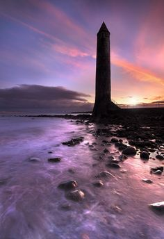 """""""Chaine Tower Lighthouse"""" by Stephen Emerson"""