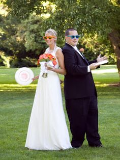 National Ultimate Frisbee Champion, Jillian, and her love, Andrew, wed at The Canal