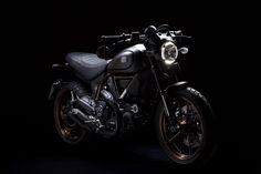 8negro: Ducati Scrambler:: Italia Independent.
