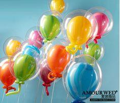 Ballons transparents, 50 pces (aliexpress)