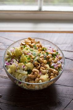Cauliflower Cashew Lunch Bowls, a make-ahead, healthy and hearty work lunch that will actually fill you up! @sweetpeasaffron