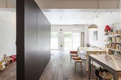 <42>黒板塗装の壁でLDKと遊びスペースに - リノベーション・スタイル - Asahi Shimbun Digital[and]