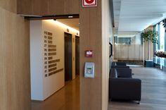 Directorio General. Oficinas centrales MSC en Valencia. Interior Exterior, Valencia, Divider, Room, Furniture, Home Decor, Offices, Interiors, Bedroom