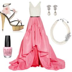 Such fun shoes in Angie's beautiful entry for the Formal Summer Soiree #fashion mission #contest #outfit