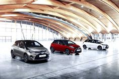 Toyota is now finishing their refreshed 2016 Toyota Yaris. This new Yaris is coming in three different exterior colors. 2016 Toyota Yaris will debut at 2015 IAA in Germany this September.