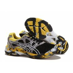 10c7841082665 7ok4 Asics Gel Noosa TRI 7 Mens Running Shoe Negro Gris Lightweight Running  Shoes