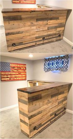 Use Pallet Wood Projects to Create Unique Home Decor Items – Hobby Is My Life Pallet Furniture Bench, Pallet Dining Table, Pallet Furniture Designs, Diy Pallet Sofa, Reclaimed Wood Furniture, Diy Pallet Projects, Home Projects, Diy Furniture, Pallet Ideas