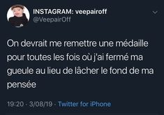 Tweet Quotes, Me Quotes, Motivational Quotes, Funny Memes Images, Funny Pictures, French Quotes, Mood Tracker, Bad Mood, I Can Relate