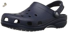 Crocs Classic Clog, Navy, M12 - Crocs mules and clogs for women (*Amazon Partner-Link)