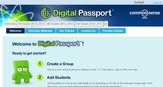 TECHing It One Day at a Time: Digital Passport - Our Favorite Digital Citizenship Site
