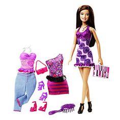 Barbie Três Looks Barbie Morena - Mattel