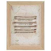Fall Seven Times.  Stand Up Eight. - Japanese Proverb (handmade by Rebecca Grace Jones)