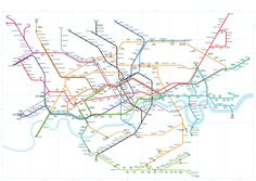 The real underground map