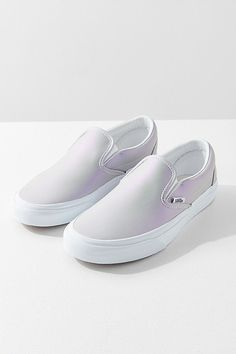 Slide View: 1: Vans Iridescent Classic Slip-On Sneaker