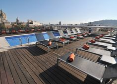 A superbly placed Barcelona hotel with an eighth-floor rooftop pool, bar and…
