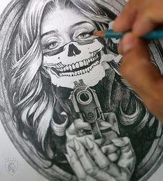 Amazing design for tattoo.