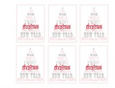 36th christmas Tags Gray