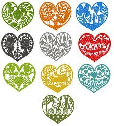 Elsa Mora — 10 Heart Patterns