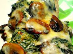 Creamed Spinach Smothered Chicken Recipe--Sounds delicious but where is the how to? No directions!