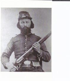 Bennett Holliman Brock (1823-1864) Union, enlisted Company K, 23rd Infantry Regiment, Missouri
