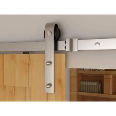 Everbilt Stainless Steel Decorative Sliding Door Hardware