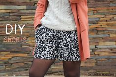 DIY, patrones, ropa de bebe y mucho más para coser.: DIY Pantalones shorts con bolsillos (patrones tallas 34 - 44)