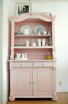 Love the pink for shabby chic! folks I know
