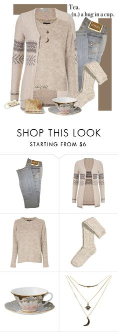 """Tea Time!"" by boho-at-heart ❤ liked on Polyvore featuring Versace, maurices, TIBI, H&M, Wedgwood and Charlotte Russe"