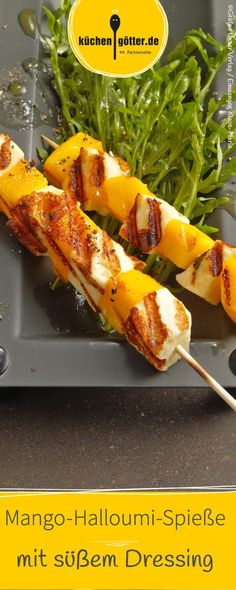 Mit dieser gegrillte Kombination von Frucht und würzigem Käse werden sich dir ganz neue Gechmacksdimensionen erschließen!