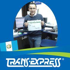 """Colaboradores TransExpress dicen:  """"#MeGustaGuatemala POR SU GENTE"""" Wilmer Méndez - Atención al Cliente"""