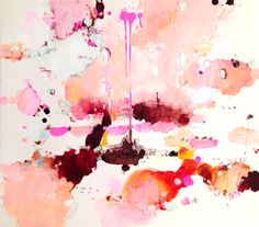 Roquebrune, mixed media on paper | ALISON COOLEY