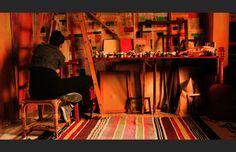 Palestinian Artist Nidaa Badwan's 100 Days of Solitude in Gaza | Art & Culture | Emaho Magazine