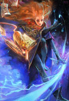 ArtStation - Hermione!, Ross Tran