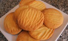 3 Ingredient Cookies, 3 Ingredient Recipes, Eggless Cookie Recipes, Snack Recipes, Easy Biscuit Recipe 3 Ingredients, Buttery Biscuits, Easy Biscuits, How To Make Biscuits, Cooking Cookies